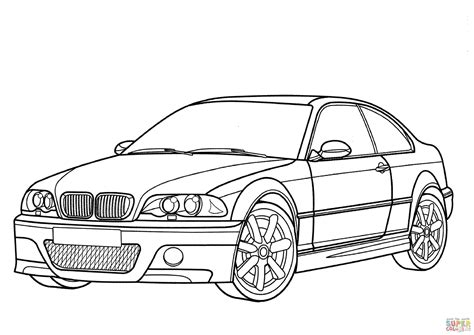 coloring pages bmw car bmw m3 coupe coloring page free printable coloring pages