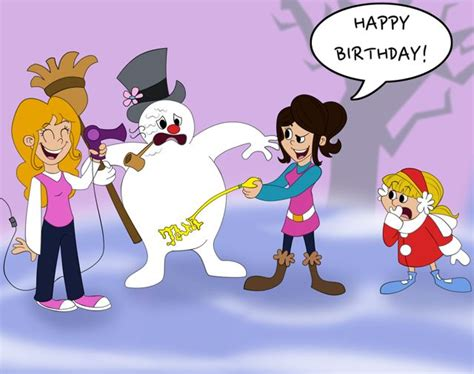 Frosty The Snowman Happy Birthday Meme - frosty the snowman happy birthday pictures reference