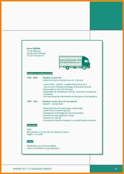 Exemple De Lettre De Motivation Chauffeur Poids Lourd 6 Chauffeur Poid Lourd Cv Exemple Lettre