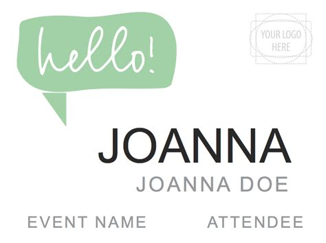 event name tag template downloadable templates and designs for nametags and badges