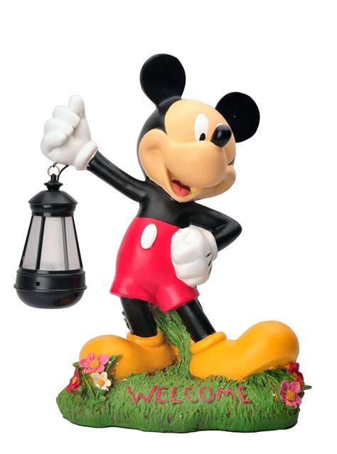 disney garden led mickey mouse statue products mickey mouse mice and gardens