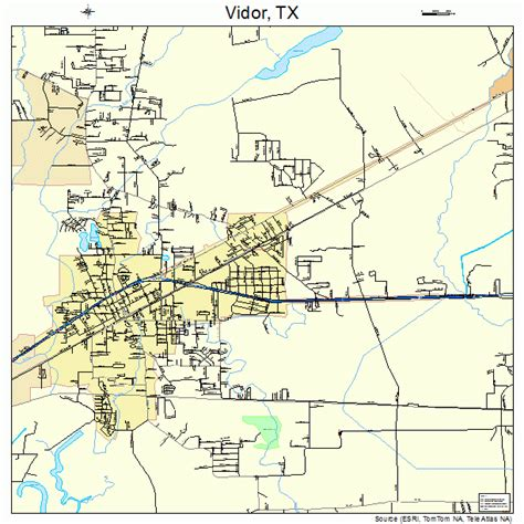 vidor texas map vidor texas map 4875476