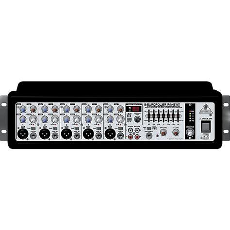Mixer Behringer Mini behringer europower pmh518m ultra compact powered mixer music123