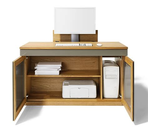 Bureau Desk Modern Modern Computer Desk Team 7 Wharfside Modern Contemporary Furniture