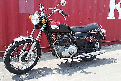 1973 honda cb350g low mileage rideable 1973 triumph trident motorcycles for sale