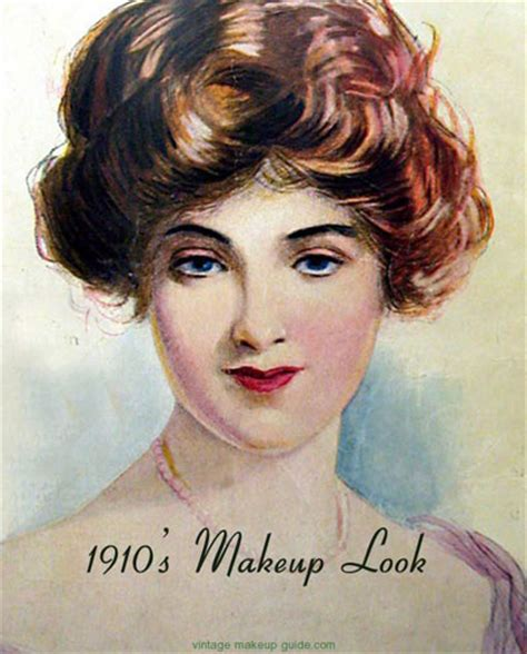 1919s hairstyles the history of makeup 1900 to 1919 glamourdaze