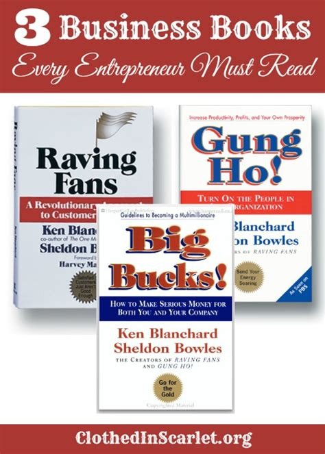 Mba Books Free by 3 Business Books Every Entrepreneur Must Read Clothed In