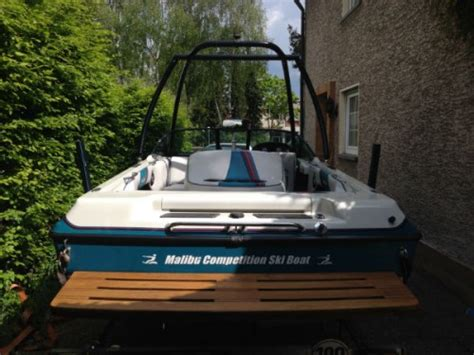 malibu boats hat malibu echelon 454 wasserskiboot gebraucht kaufen bei