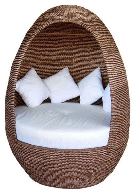 Outdoor Pod Chair by Igloo Outdoor Wicker Pod Outdoor Lounge Chairs Chicago