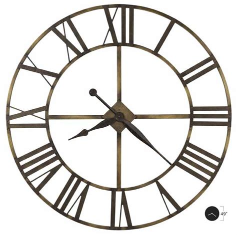 howard miller wingate 625 566 large wall clock the clock depot