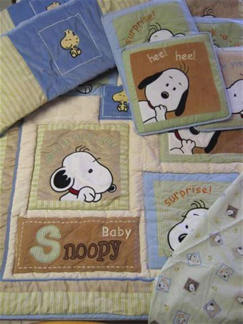 Snoopy Baby Crib Bedding The World S Catalog Of Ideas