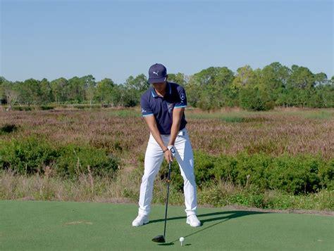 rickie fowler swing sequence 瑞奇 佛勒揮桿分析 揮桿分析 golfdigest高爾夫文摘