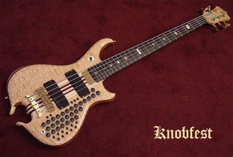 Handmade Bass - alembic featured custom