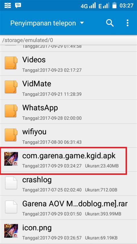 cara mod game online jadi offline di android cara instal game garena arena of valor aov secara