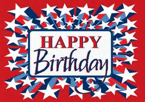 patriotic happy birthday postcards pc5026 harrison greetings business greeting cards
