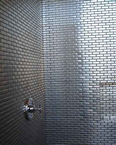 stainless steel bathroom tiles pin by sara amigh on interior design pinterest