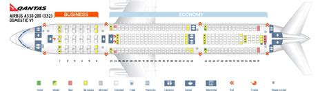 qantas airlines seats seat map airbus a330 200 qantas airways best seats in the