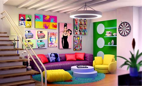 1950s Armchairs 12 Inspirational Pop Art To Apply In Your Interiors