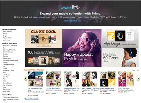 amazon prime music launches in the uk but only has a amazon prime music launches