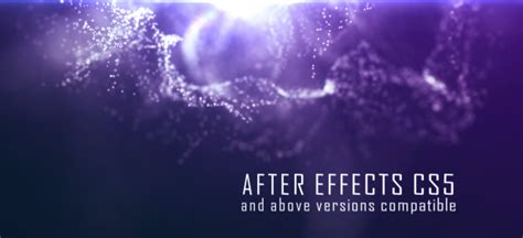 Abstract Particle Titles Abstract After Effects Templates F5 Design Com Particle Titles After Effects Templates