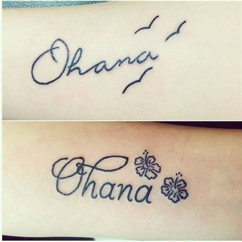 ohana tattoos ohana tattoo tattoos disney lilo stitch