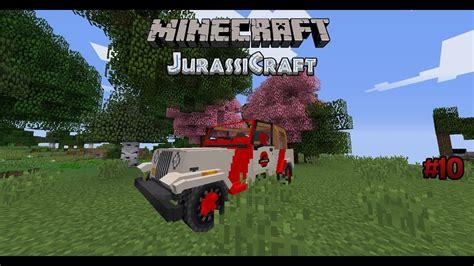 minecraft jeep wrangler minecraft jurassicraft 10 der jeep wrangler