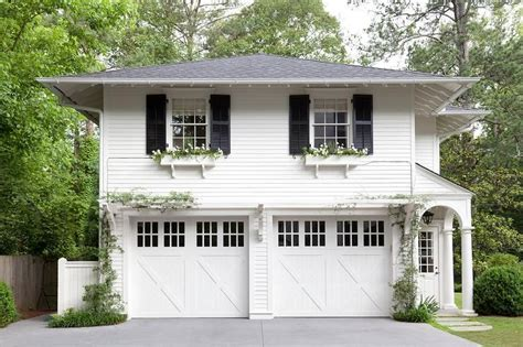 two car garage with apartment above gorgeous home exterior boasts a traditional two car garage