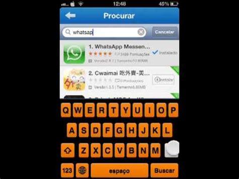 tutorial como instalar o whatsapp como instalar o whatsapp gr 225 tis no iphone youtube