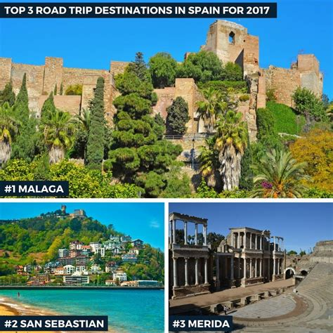 auto europe reveals the top 3 road trip destinations in