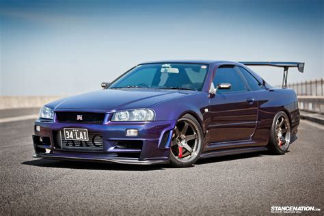 purple nissan midnight purple iii nissan gtr r34 1680 x 1120 carporn