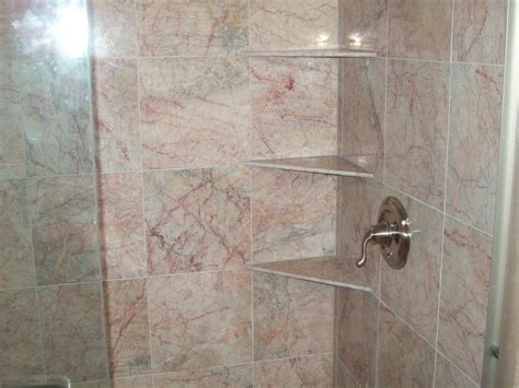 Marble Corner Shower Shelf by All About Tile Cincinnati Oh 45247 Angie S List