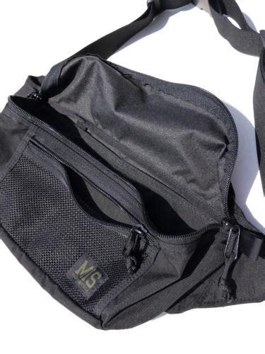 Waist Bag Nature 商品詳細 mesh waist bag black