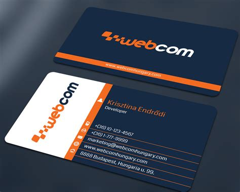 Software Developer Business Card Template by Graphic Design Software For Business Cards Business Card