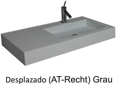 corian grau waschbecken largeur 160 waschbecken breite 160 cm