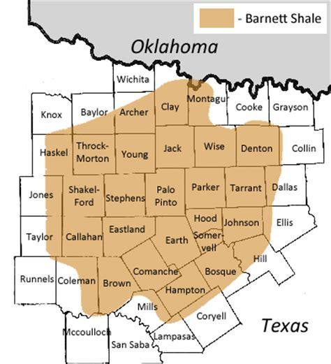 barnett shale map history of the barnett shale universal royalty company