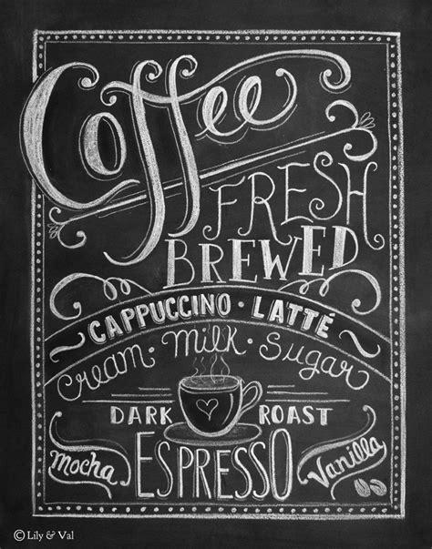 coffee chalkboard on pinterest chalkboard art kitchen cafe display and coffee wall art