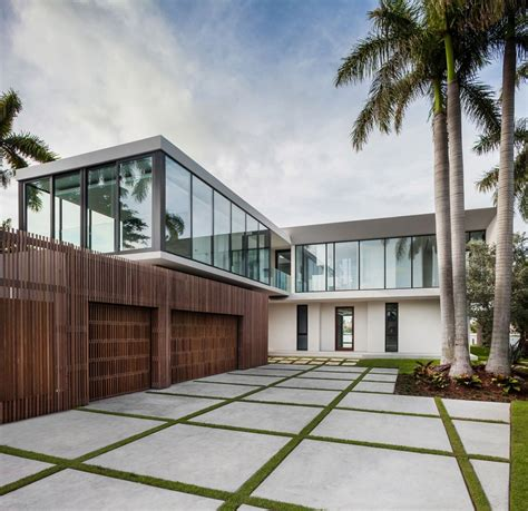 miami modern home design elegant beachside house design in miami beach modern