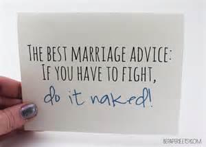 wedding card marriage advice card funny card humorous