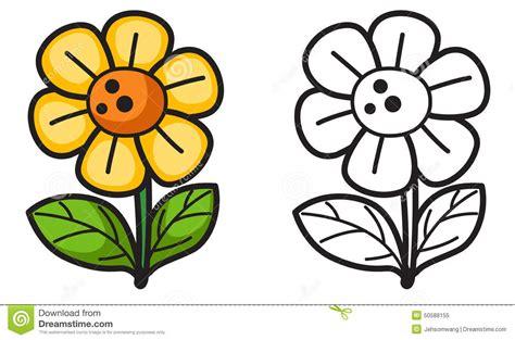 clipart bianco e nero fiore variopinto ed in bianco e nero per il libro da