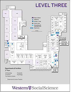 Safe Room Floor Plans social science centre floor plan western university