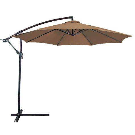 10 Ft Patio Umbrella Tan Onebigoutlet Com Sun Umbrellas For Patio