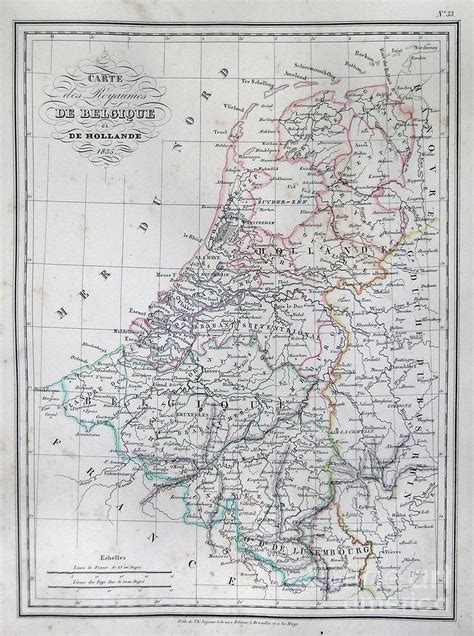 map belgium netherlands map of belgium and or the netherlands photograph