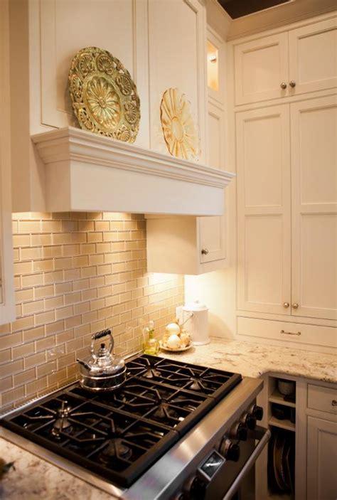 neutral glass tile backsplash kitchen backsplash neutral walnut stained flat