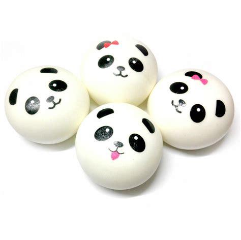 Squishy Dimsum 10cm jumbo bow panda dim sum steamed bun