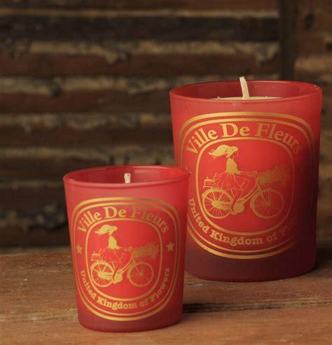 victorian christmas soy candle ville de fleurs