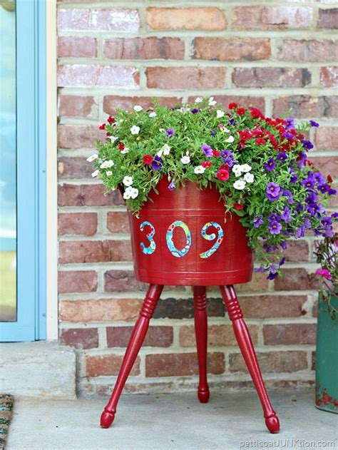 Decoupage For Outdoors - decoupage planters and curb appeal on