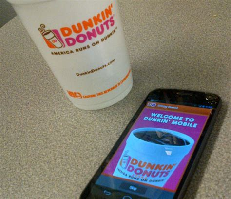 How To Send Starbucks Gift Card Through Text - move over starbucks dunkin donuts launches ios android payment apps cio