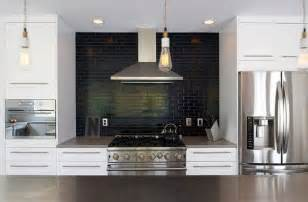 Black Backsplash In Kitchen Kitchen Subway Tiles Are Back In Style 50 Inspiring Designs