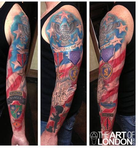 army tattoo sleeve designs army tattoos patriotic tattoos that will make you cry