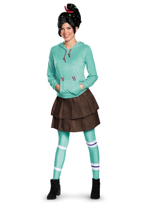 easy costumes for adults deluxe vanellope schweetz costume